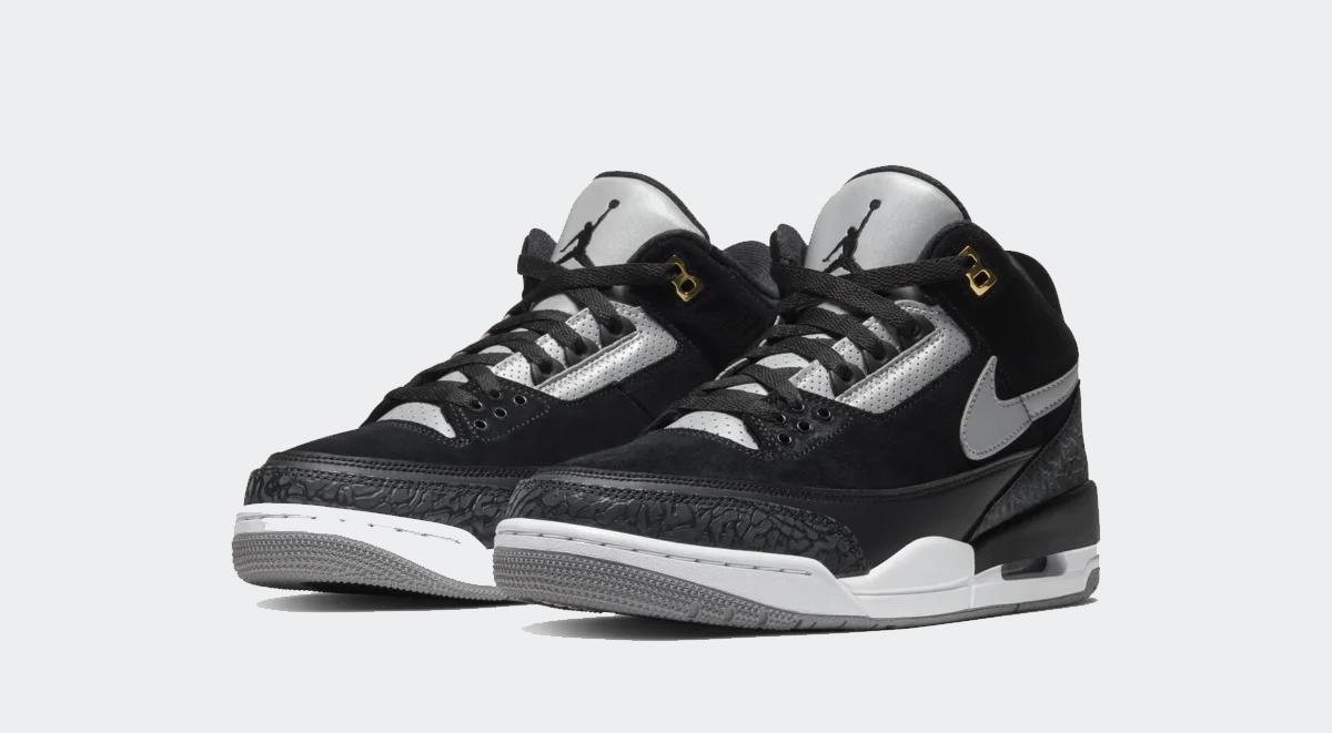 footwear drops air jordan 3 tinker black cement nike sb x air jordan 1 low unc august 2019 sneaker releases