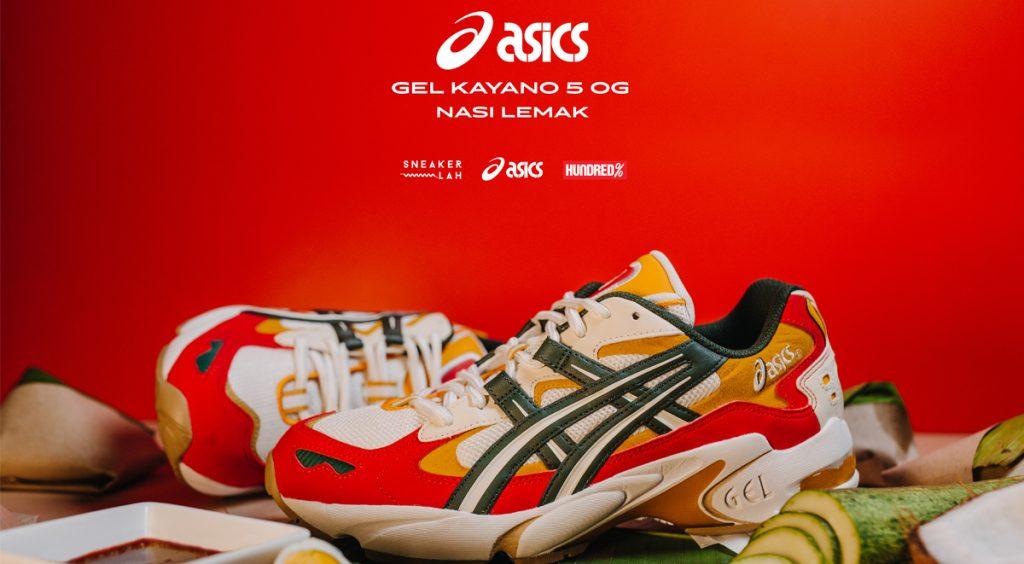 Sneakerlah x Hundred % Gel Kayano 5 OG
