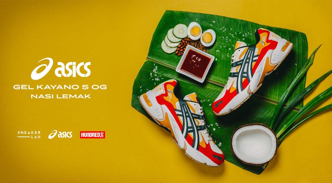 Sneaker Lah x Hundred % Gel Kayano 5 OG