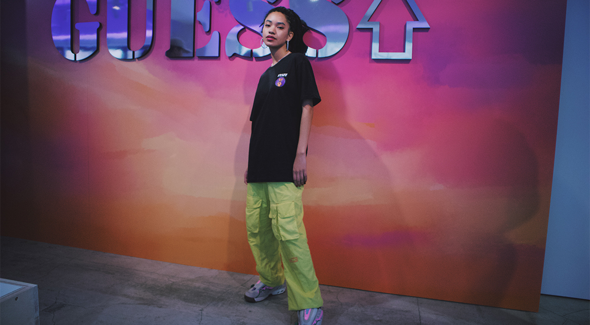 guess x 88rising japan launch street style spotting bold 2019
