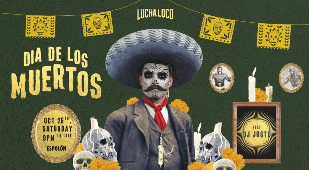Halloween Lucha Loco