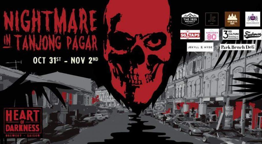 Halloween Nightmare in Tanjong Pagar
