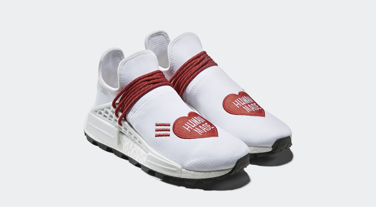 Human Made x Adidas Pharrell NMD Hu singapore release details footwear drops october 2019