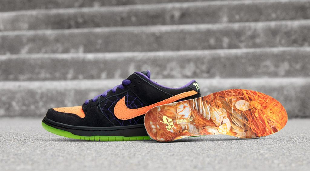 """SB Dunk Low """"Night of Mischief"""" insole"""