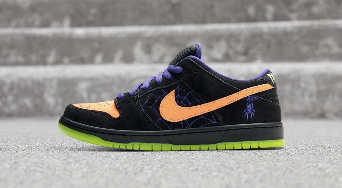 Nike SB Dunk Low Halloween air jordan 1 shattered backboard 3.0 singapore release details 2019 footwear drops