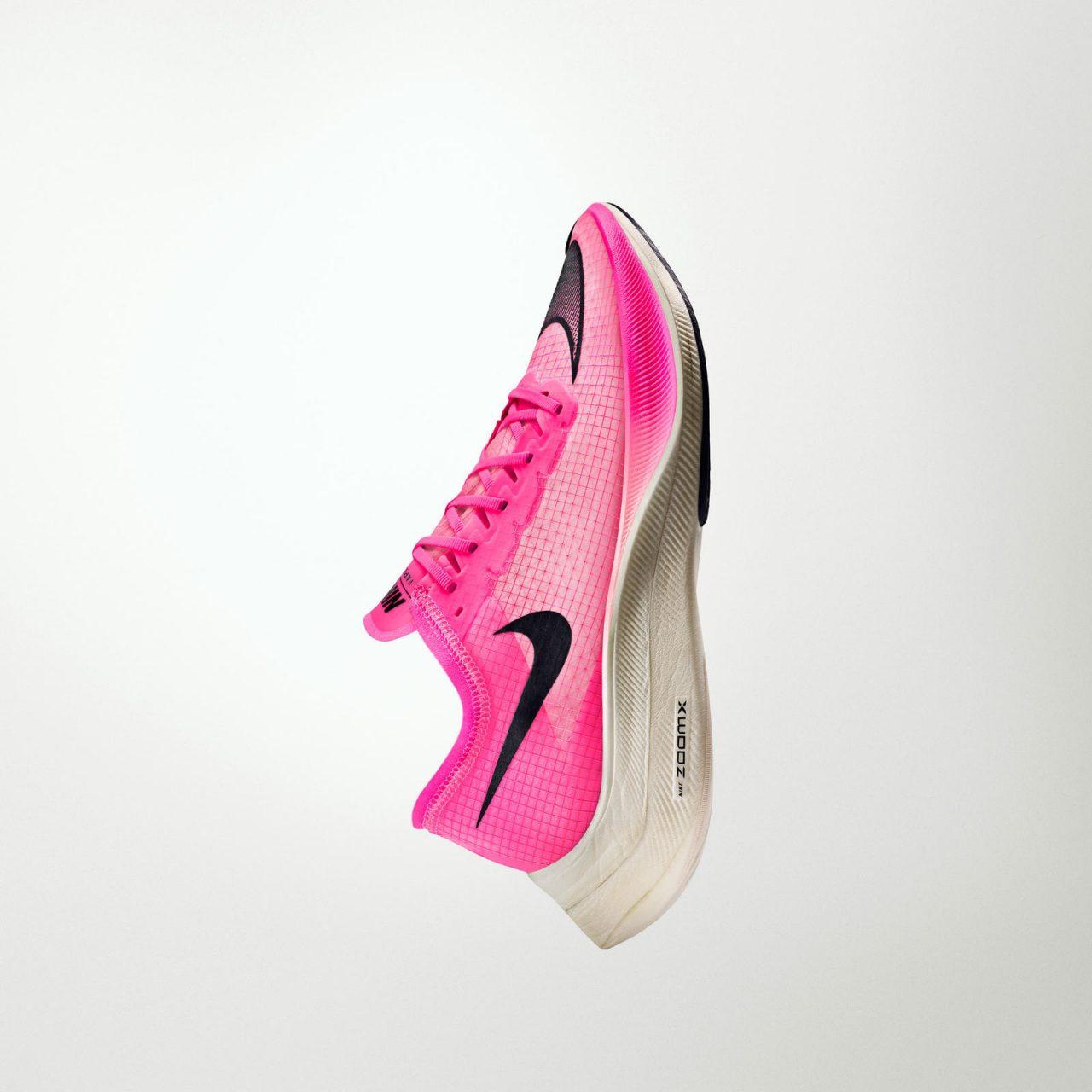 Nike ZoomX Vaporfly NEXT% worn by Eliud Kipchoge
