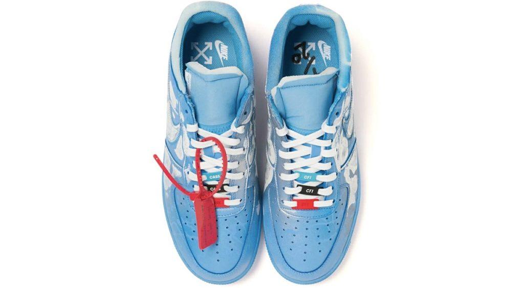 Virgil Abloh x MCA Chicago x Cassius Hirst Nike Air Force 1 banner 1
