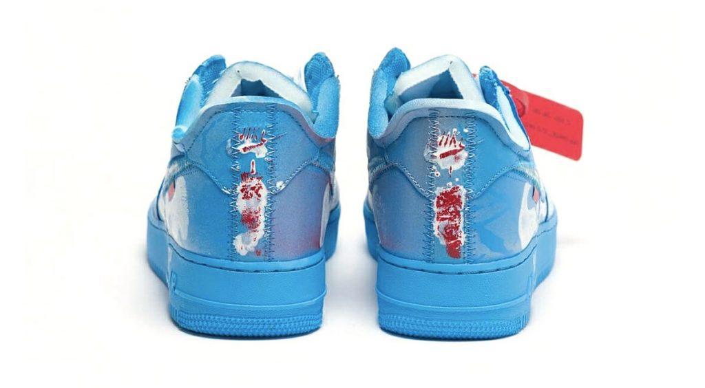 Virgil Abloh x MCA Chicago x Cassius Hirst Nike Air Force 1 banner 3