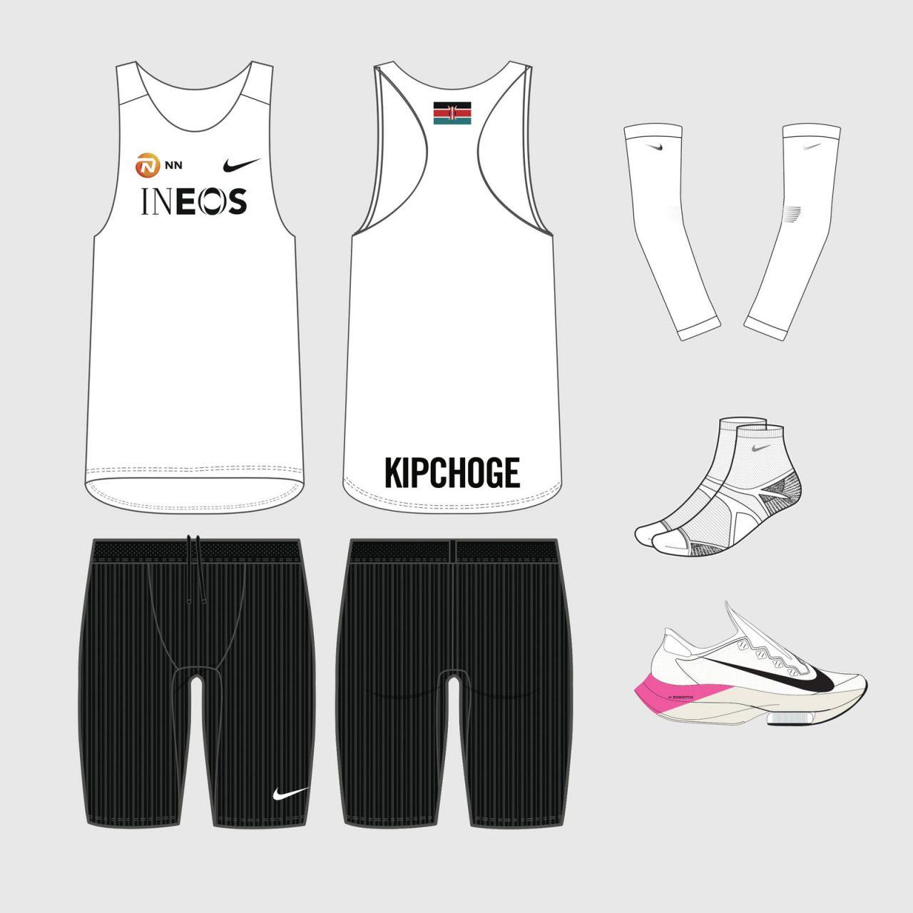 Eliud Kipchoge Nike ZoomX Vaporfly NEXT%