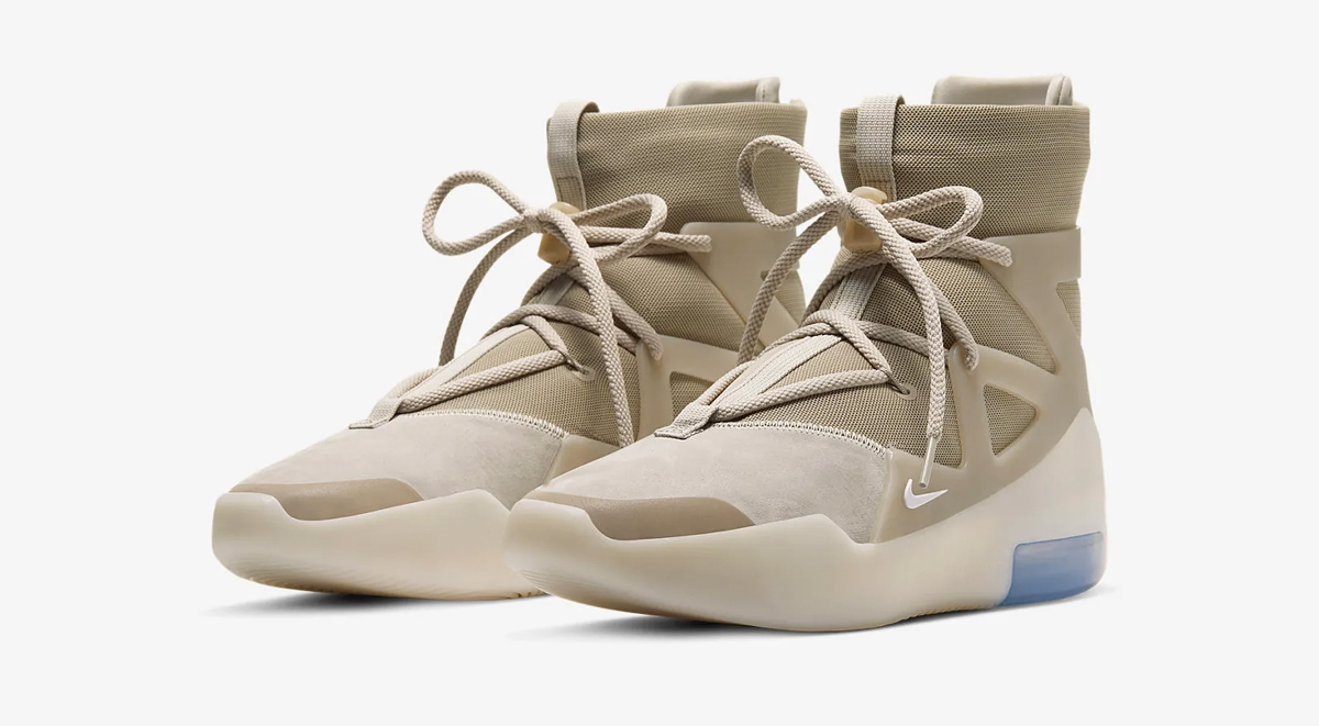 footwear drops nike air fear of god 1 oatmeal air jordan 1 fearless singapore release details