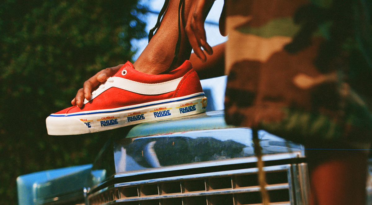 vans x rhude collaboration sneakers singapore release details 2019