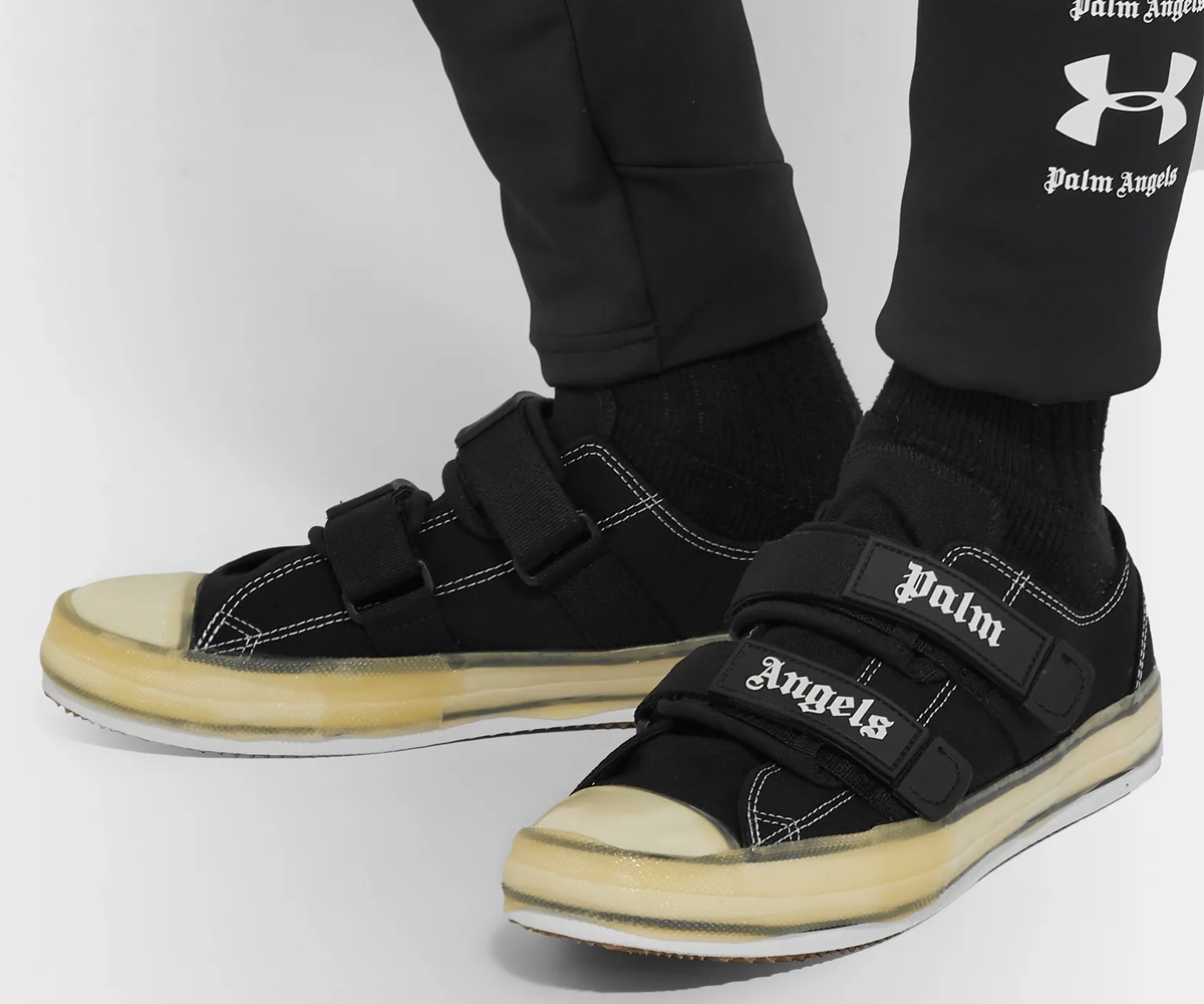 Christmas gift guide 2019 above 100 Palm Angels Velcro Logo Sneaker
