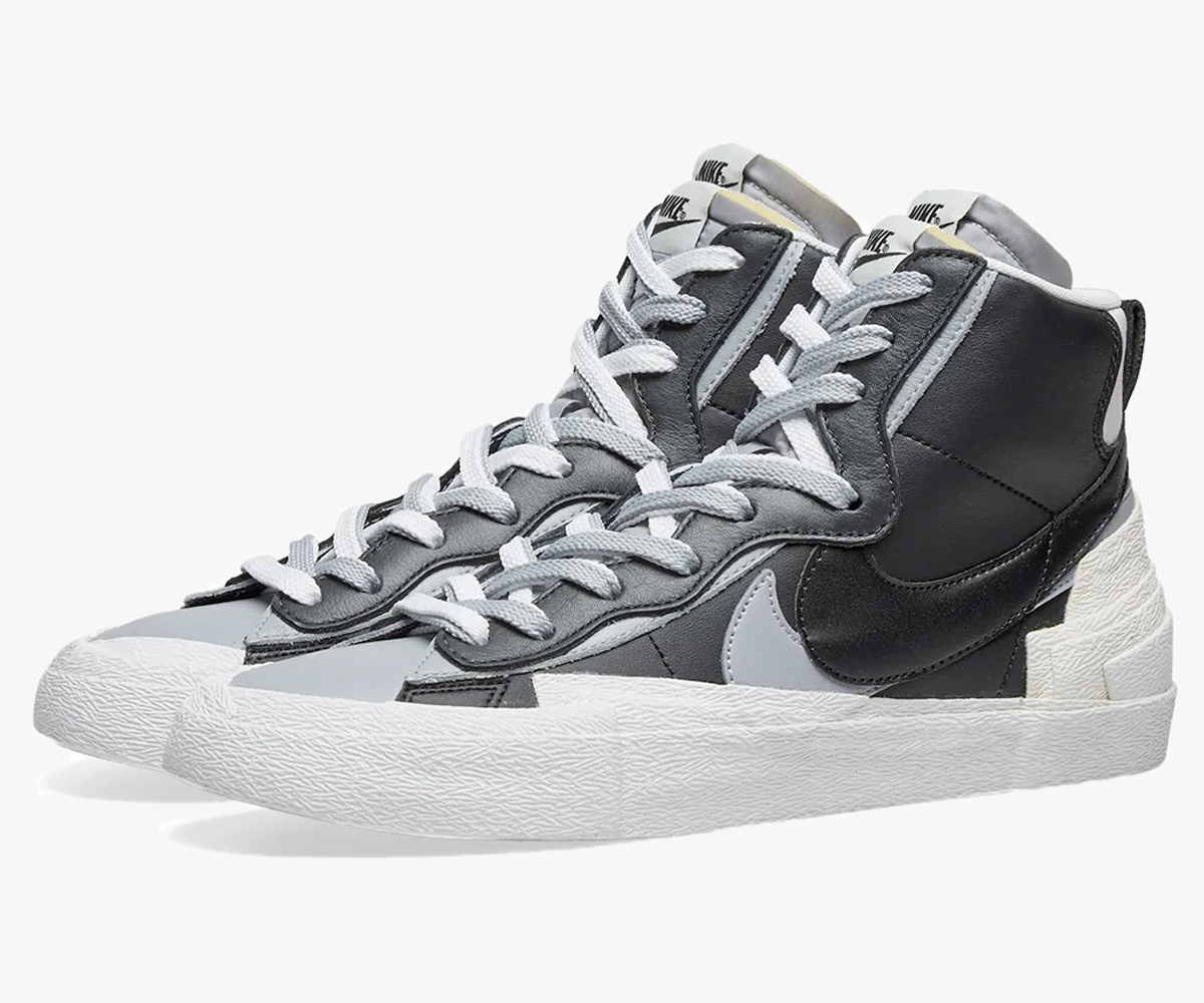 Christmas gift guide 2019 above 300 Nike Blazer Mid sacai Black Grey
