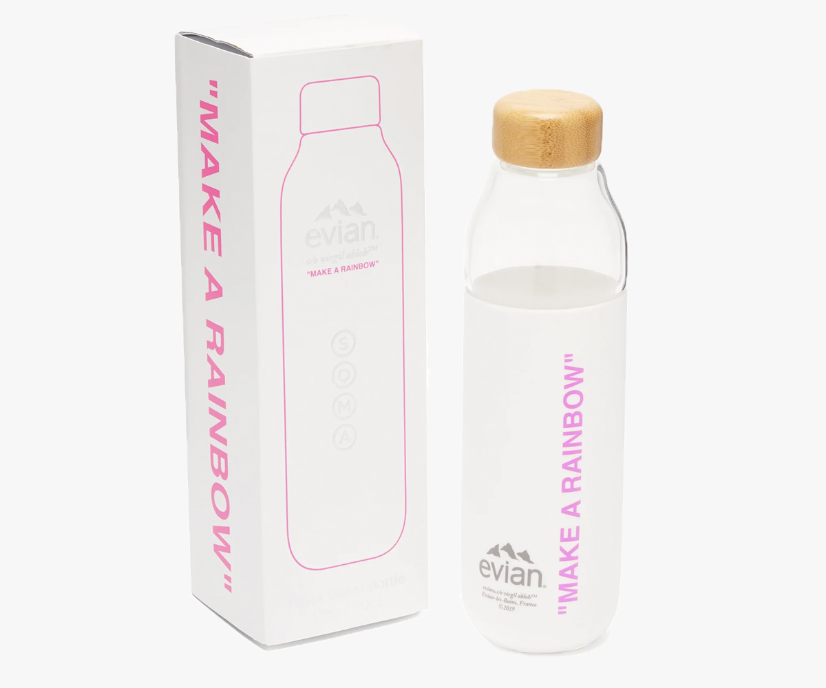 Christmas gift guide 2019 under 100 Evian By Virgil Abloh