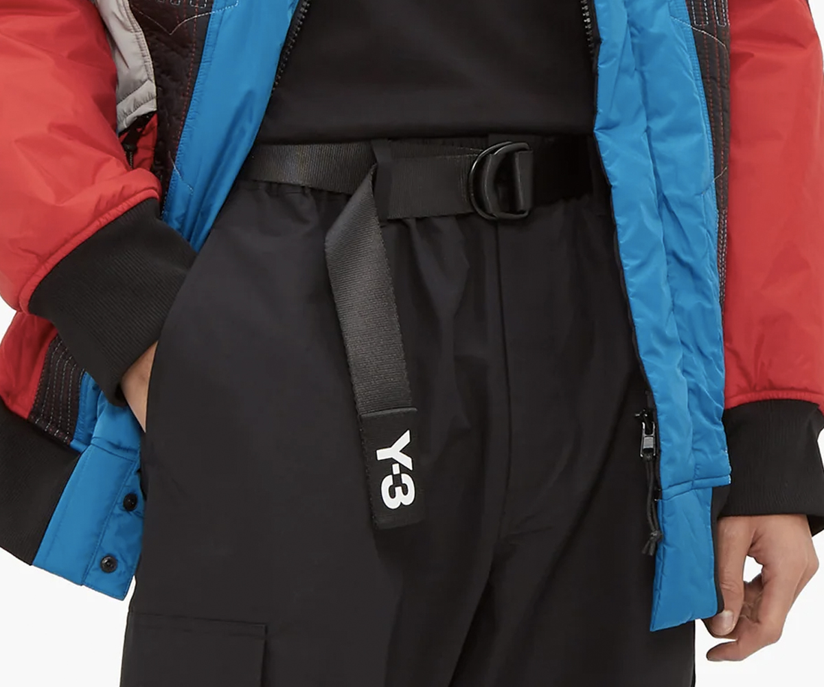Christmas gift guide 2019 under 100 Y-3 Logo-print technical web belt