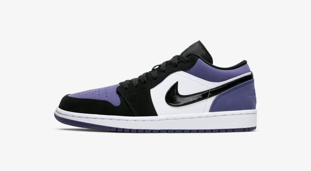Nike Energy Week Singapore Top Releases Air Jordan 1 Low Court Purple