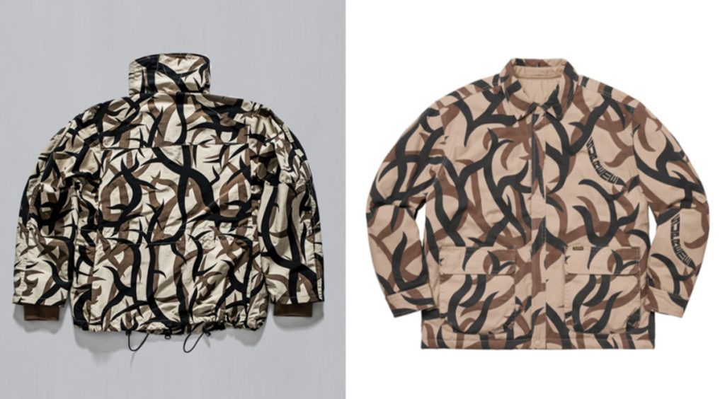 Supreme Lawsuit Tribal Camo Comparison ASAT