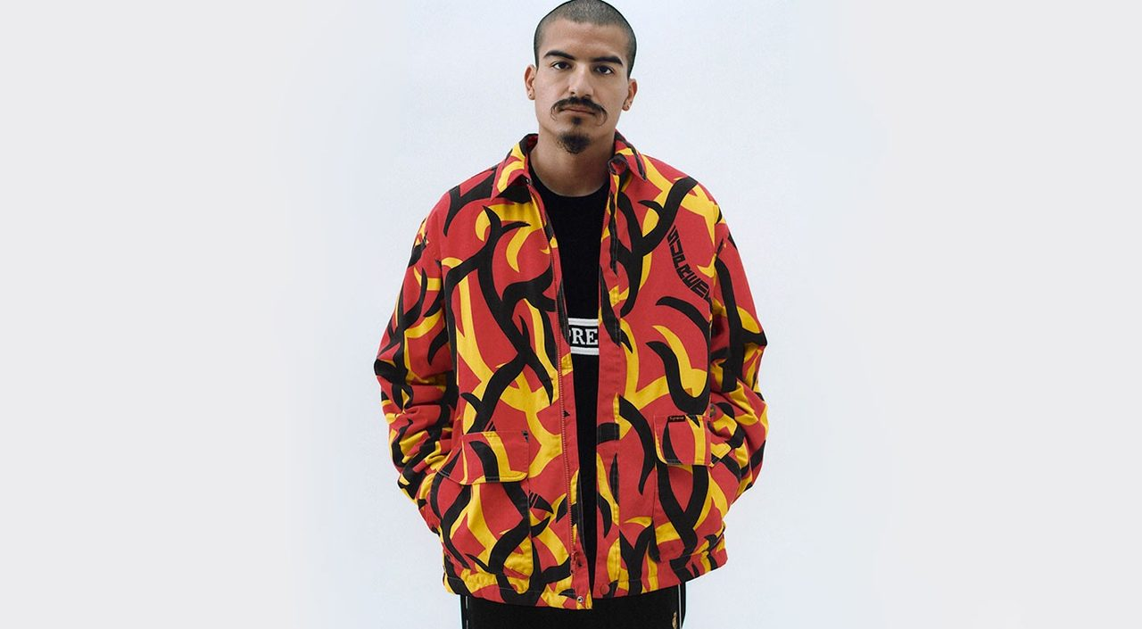Supreme Lawsuit Tribal Camo Sweater