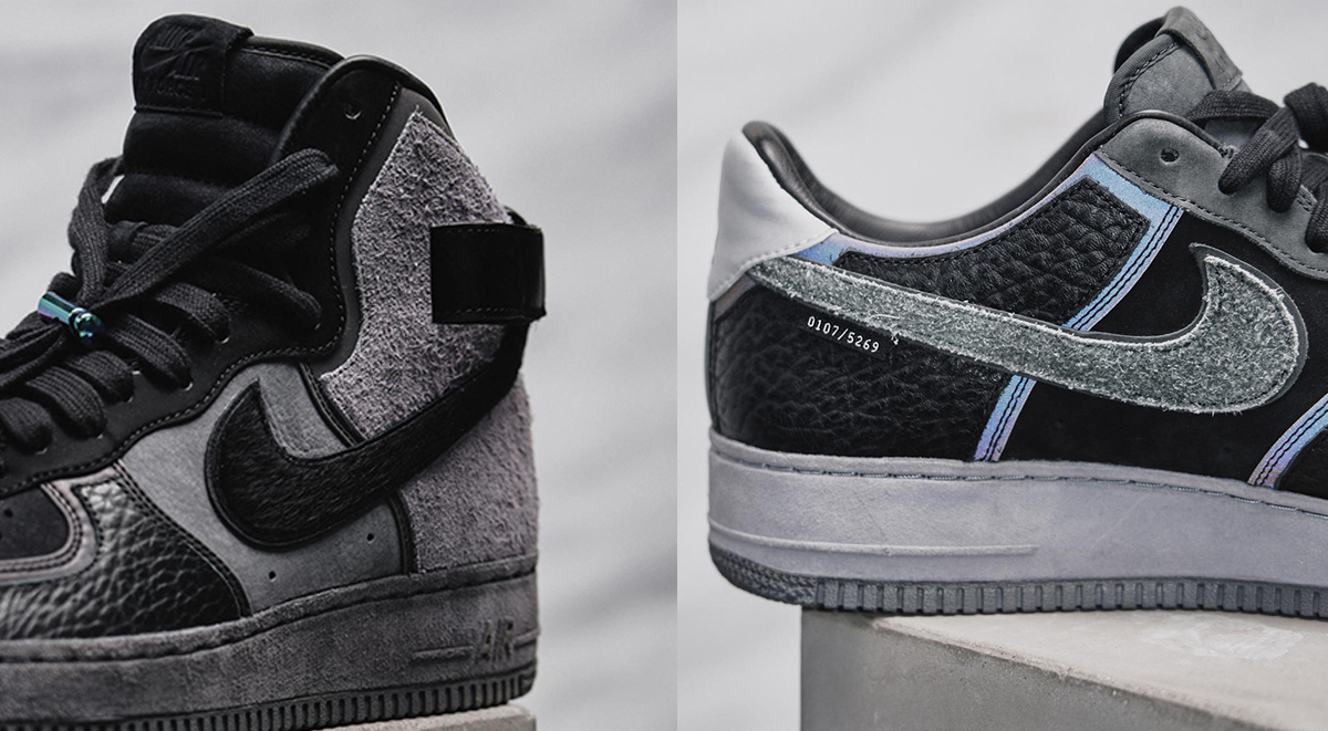a ma maniere x nike air force 1 low and high model 2019 exclusive