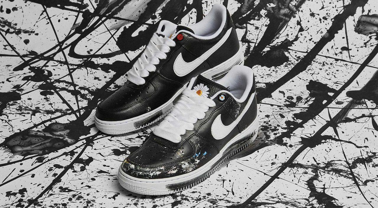 footwear drops G-Dragon x Nike Air Force 1 peaceminusone singapore release details 2019