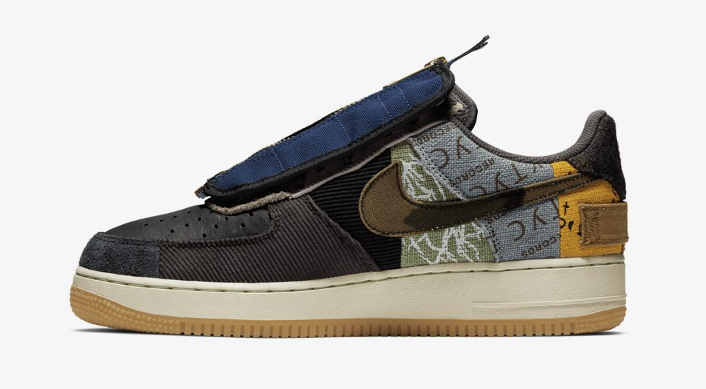 footwear drops nike x travis scott air force 1 cactus jack 2019