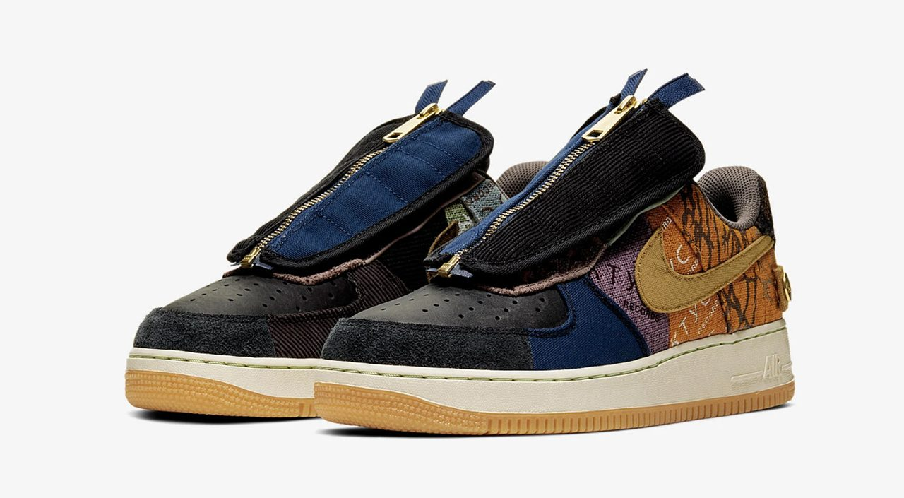 footwear drops nike x travis scott air force 1 cactus jack november 2019
