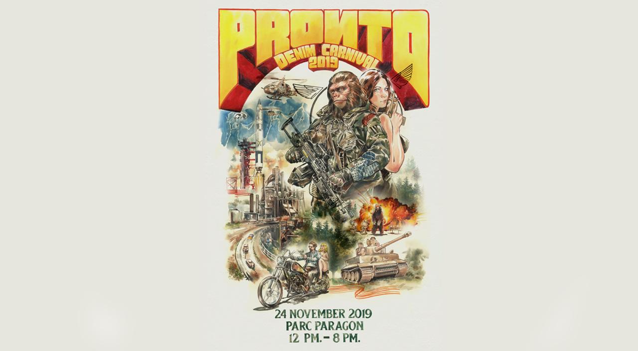 Pronto Denim Carnival 2019: Nov 24 at Parc Paragon, Bangkok