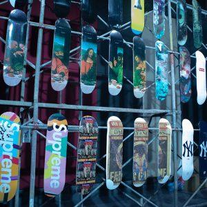 street superior festival 2019 supreme deck display