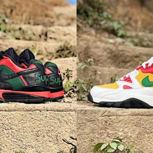 supreme x nike air cross trainer 3 low leaked images