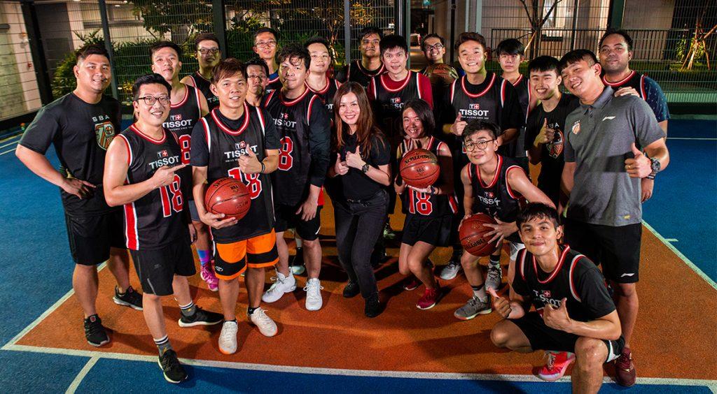 tissot basketball clinic professional training program scholar basketball academy singapore