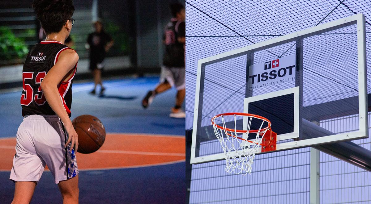 tissot basketball clinic scholar basketball academy passionate fans