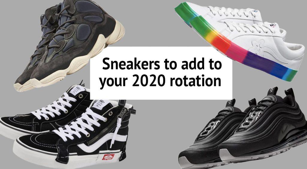 2020 sneaker rotation refresh