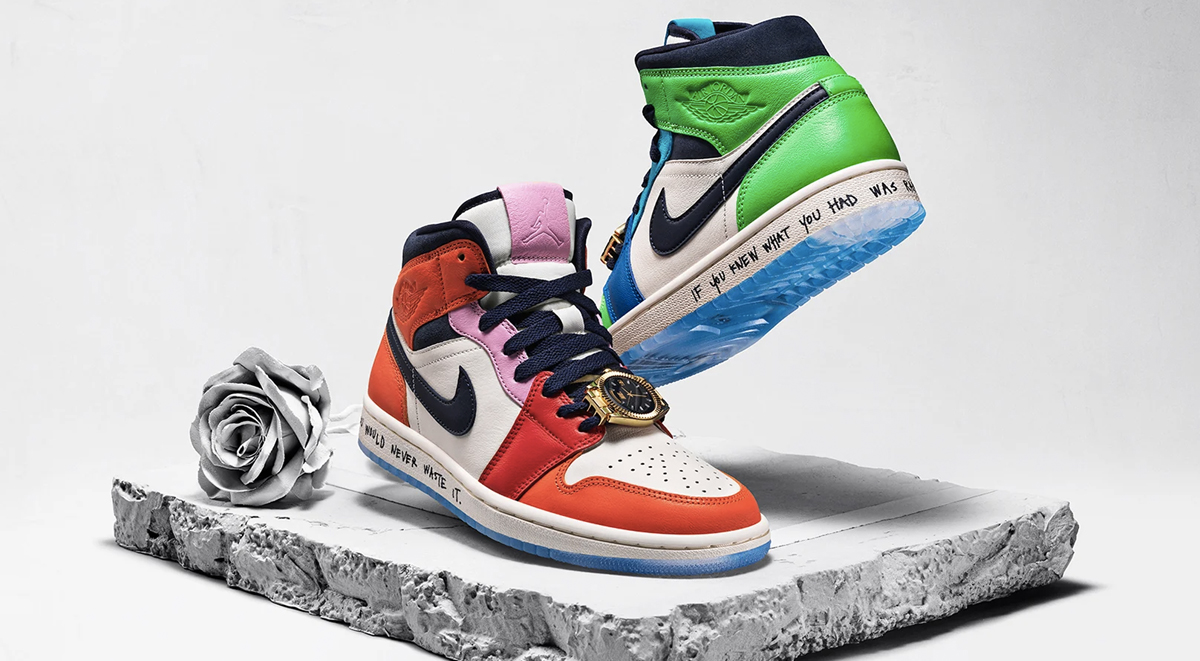 Best Sneaker collaborations of 2019 Air Jordan 1 Mid x Melody Ehsani