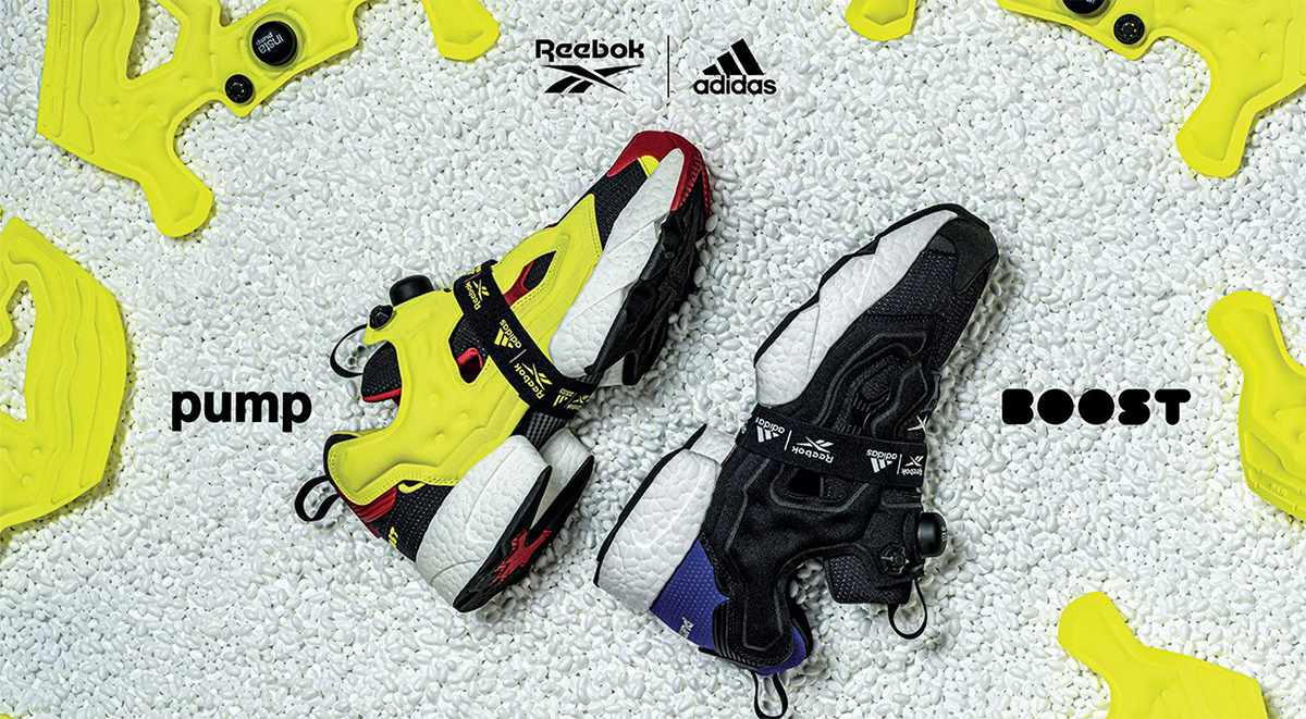 Best Sneaker collaborations of 2019 Reebok x Adidas Instapump Fury Boost