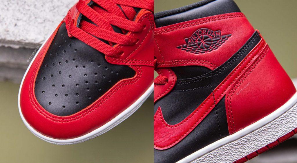 """Air Jordan 1 Hi 85 """"Varisty Red"""" Colorblocking"""