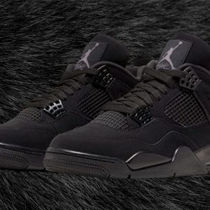 "Air Jordan 4 ""Black Cat"" 2020 banner"