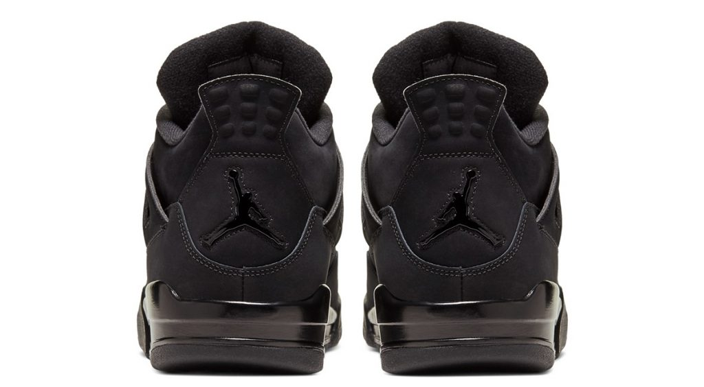 "Air Jordan 4 ""Black Cat"" 2020 heel cap"