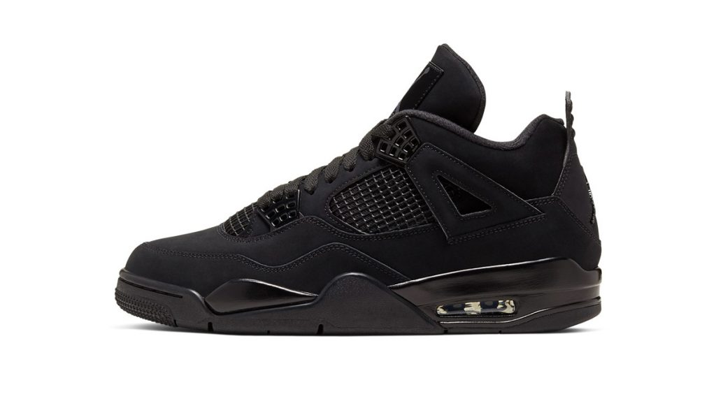 "Air Jordan 4 ""Black Cat"" 2020 side"