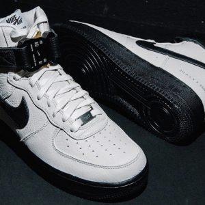 Alyx x Nike Air Force 1 High WhiteBlack Colorways