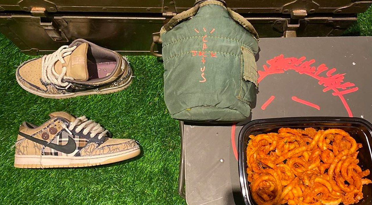 Cactus Jack Camping collection Instagram post
