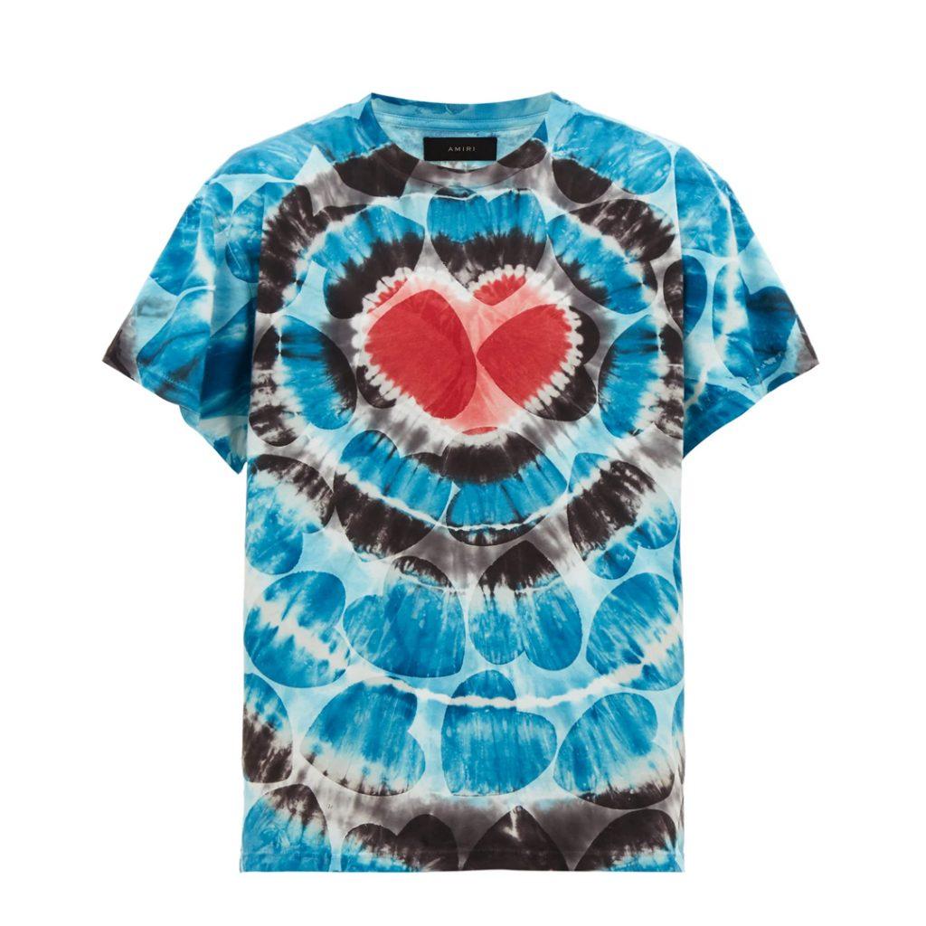 pantone 2020 blue Shopping Guide Amiri Tie dye tshirt Matchesfashion