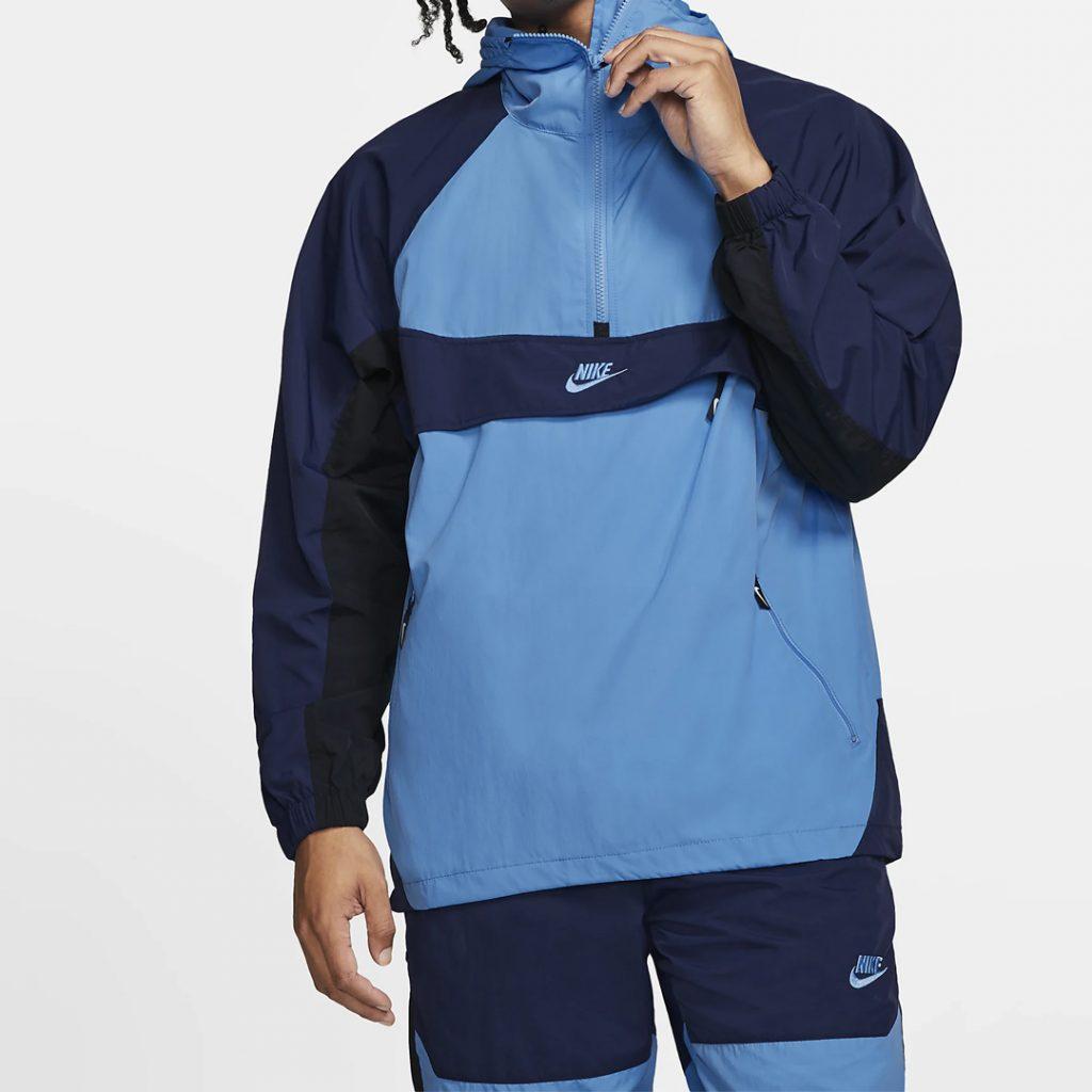 pantone 2020 blue Shopping Guide Nike Hooded Woven Jacket Nike.com
