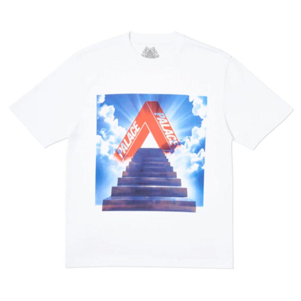 pantone 2020 blue Shopping Guide Palace Tri-Ternity T-Shirt White Stockx