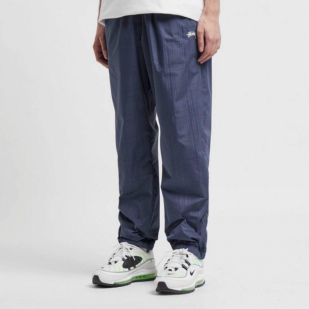 pantone 2020 blue Shopping Guide Stussy Plaid Track Pants Size?