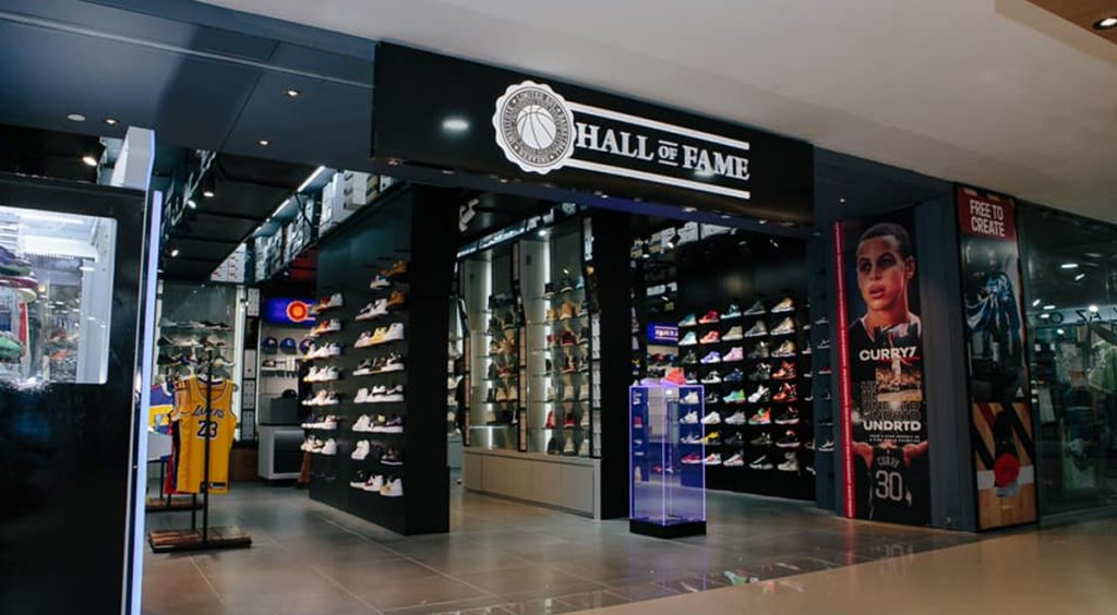 Queensway Shopping Centre Limited Edt Frenzy Drop Hall of Fame