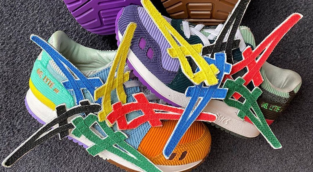 Sean wotherspoon x Atmos x Asics gel lyte III feature images