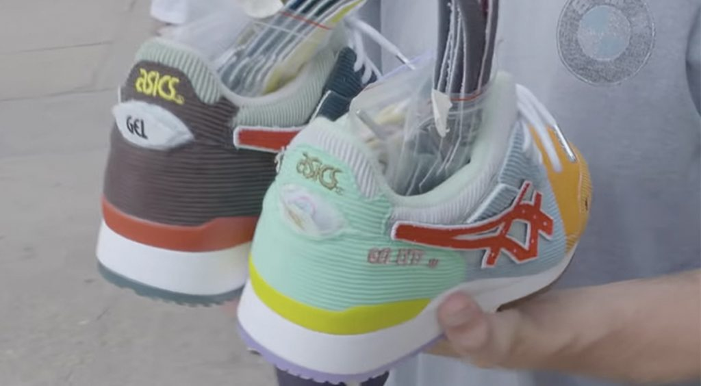 Sean wotherspoon x Atmos x Asics gel lyte III youtube mini series