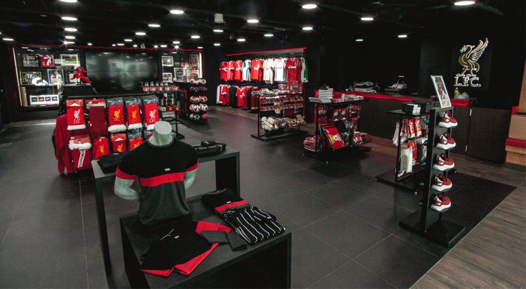 Singapore Liverpool FC Store Club Merchandise