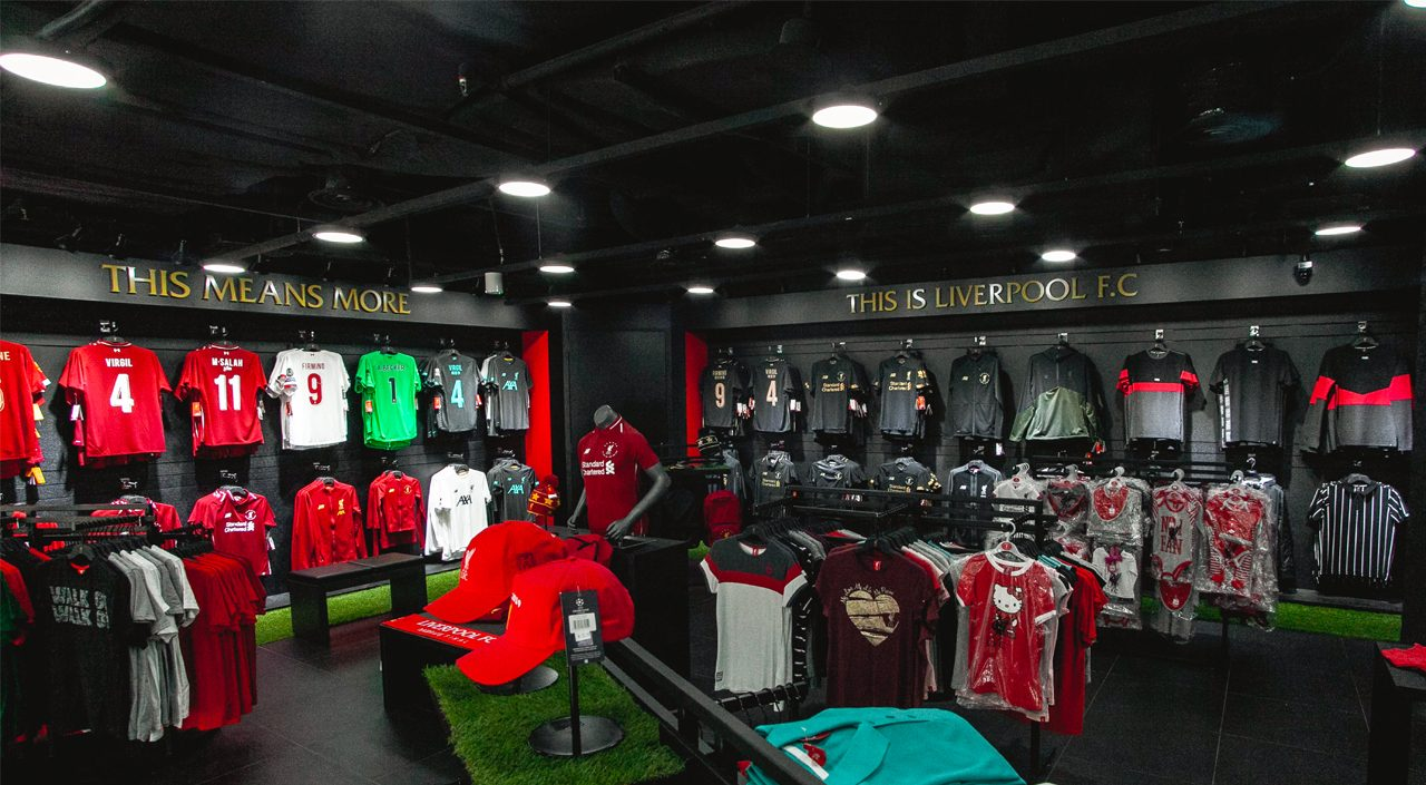 Singapore Liverpool FC Store Club Motto