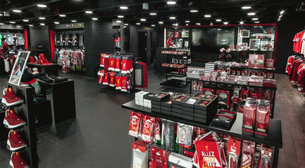 Singapore Liverpool FC Store Club Official Merchandise